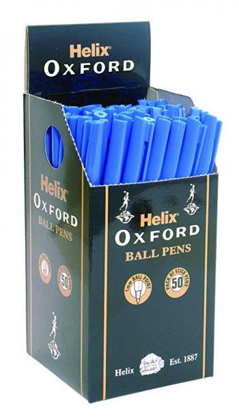 8166520 – OXFORD STICK PEN BOX 50 BLUE